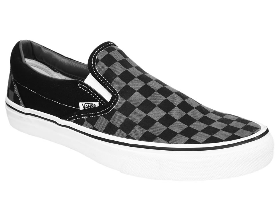 zapatos vans de cuadros