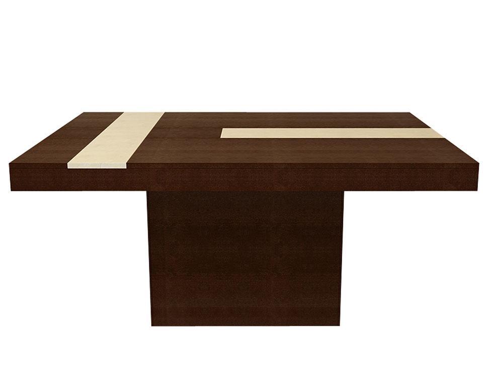 Par s mesa rectangular contempor nea tabaco liverpool es for Comedores cyber monday