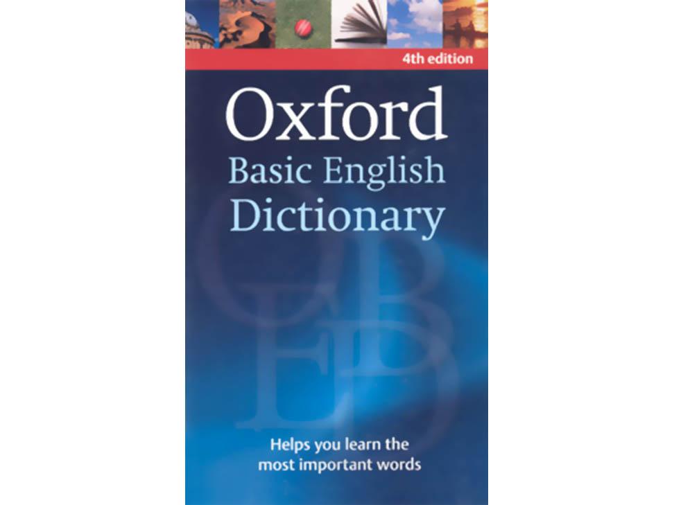 oxford basic english dictionary pdf