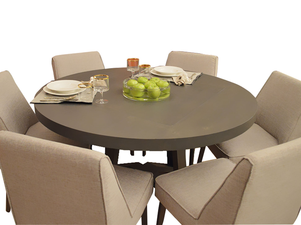 Gusto mesa trendy gris for Comedores cyber monday